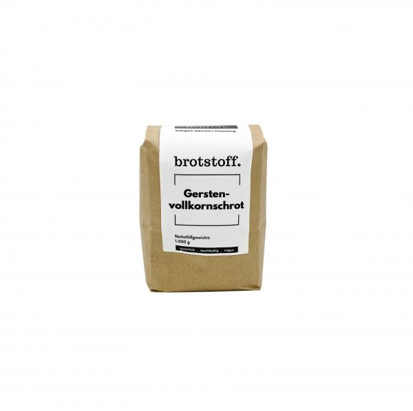 brotstoff - Schrote - Gerstenschrot - nachhaltiger Anbau und Verpackung