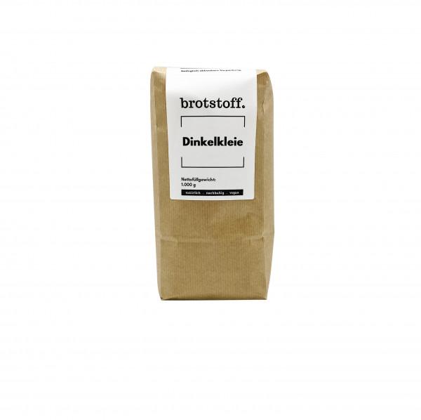 brotstoff - Dinkelkleie- Kleie - Beutel - vorne