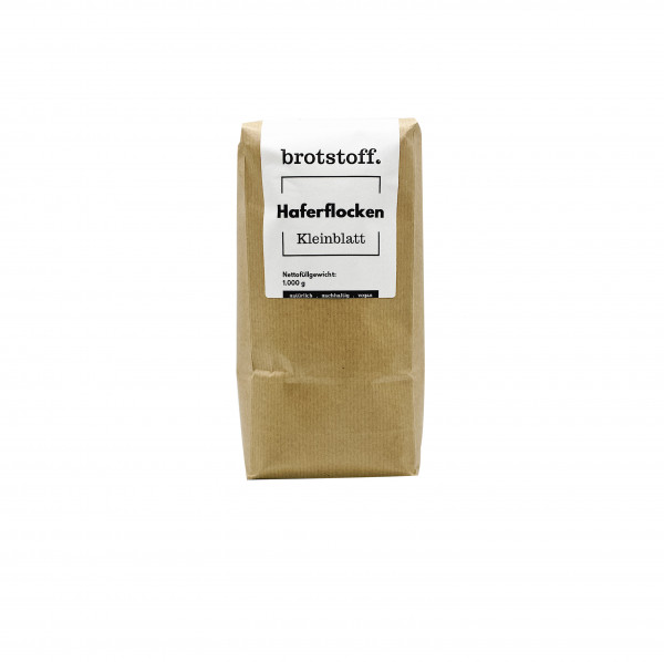 brotstoff - Flocken - Haferflocken Kleinblatt