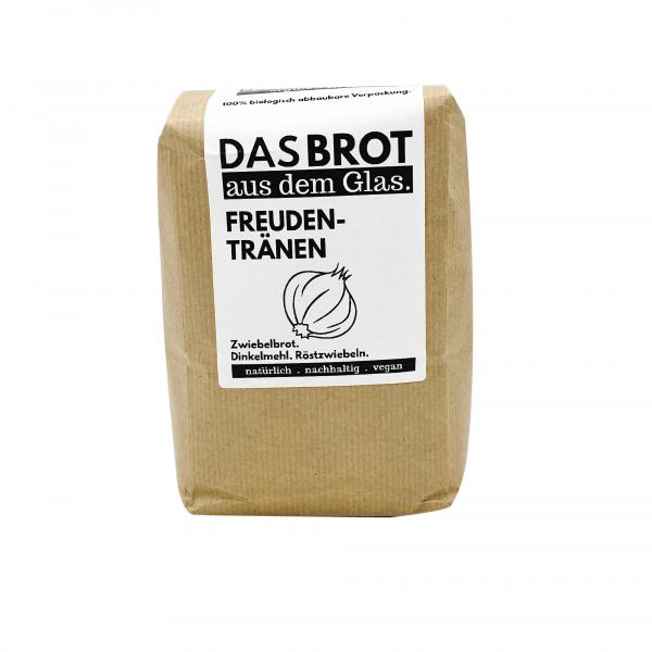 brotstoff - Das Brot aus dem Glas - Freudentränen - Nachfüllpaket - Beutel - vorne