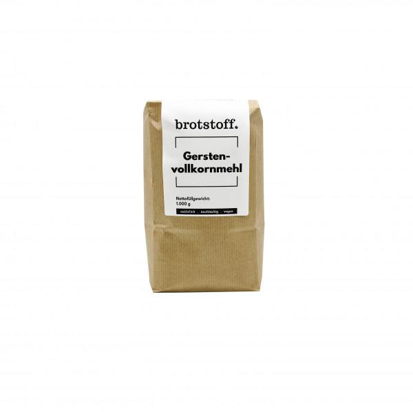 brotstoff - Mehle - Gerstenmehl - Anbau in NRW