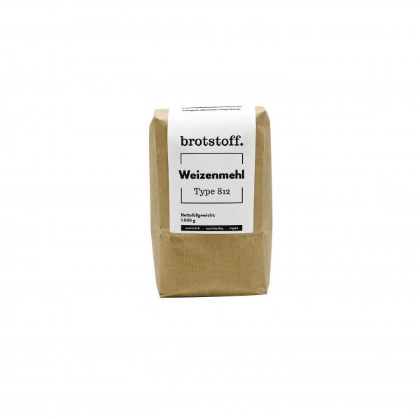 brotstoff - Auszugsmehle  Weizenmehl Type 812 - kompostierbarer Beutel
