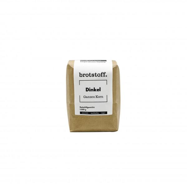 Dinkel - Körner - Beutel - vorne