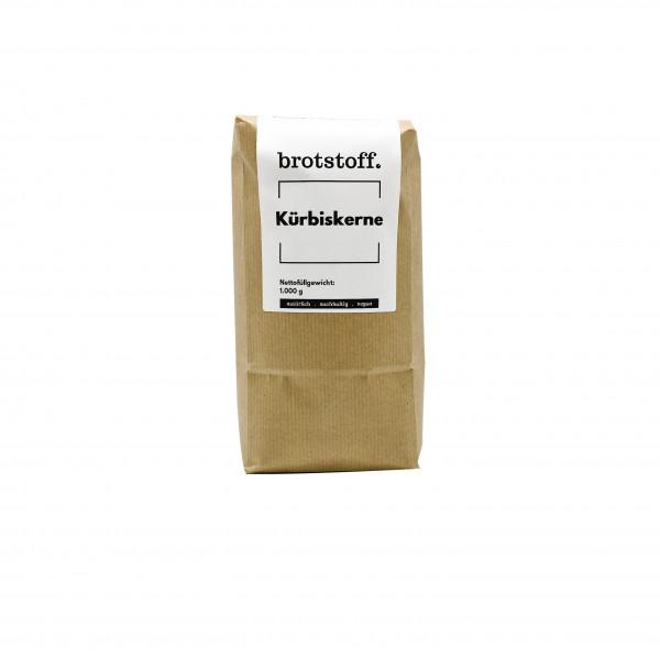 brotstoff - Kerne und Saaten - Kürbiskerne - kompostierbarer Beutel