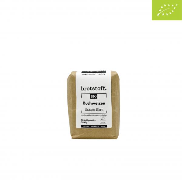 brotstoff - Bio - Buchweizen - Beutel - vorne