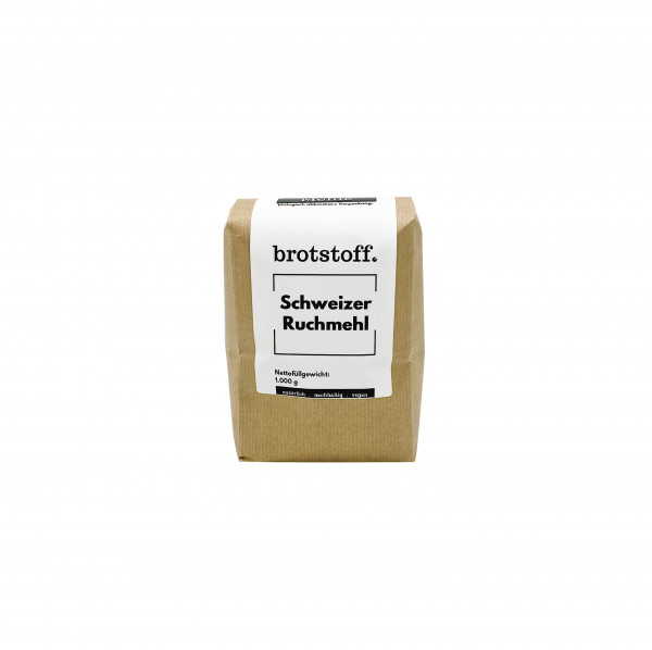 brotstoff - Sonstige Zutaten - Schweizer Ruchmehl - original aus der Schweiz