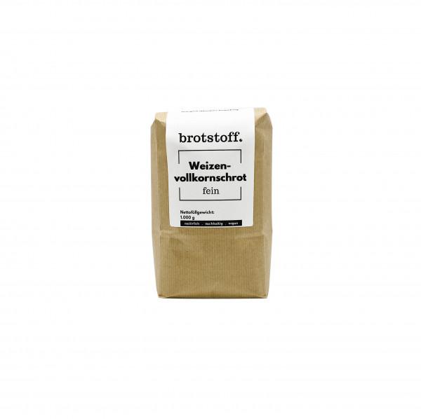 brotstoff - Schrote - Weizenschrot - fein